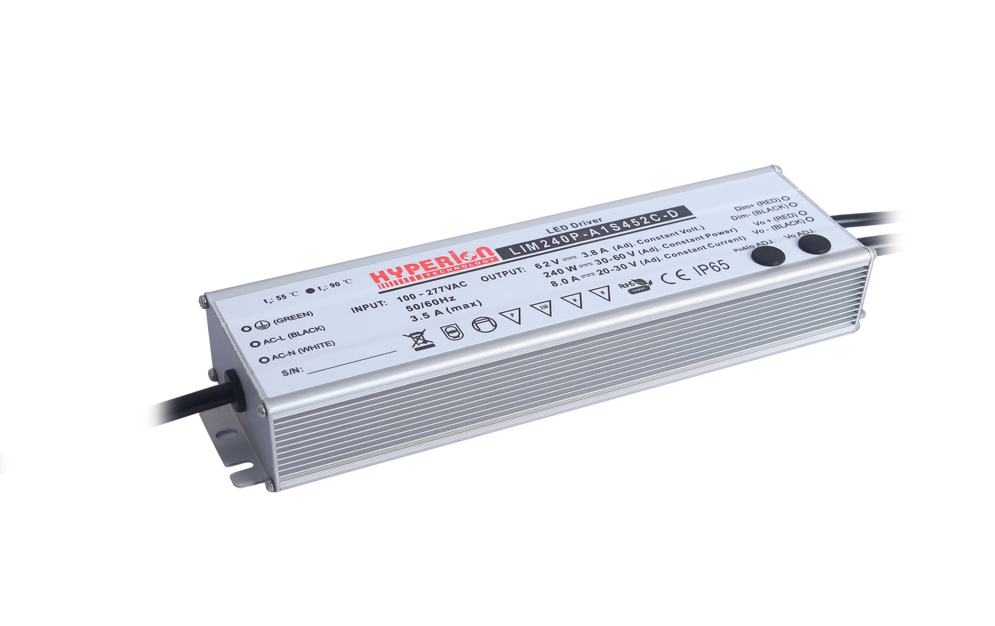 Led Drivers Adjustable High Power Driver Lim 240p Series